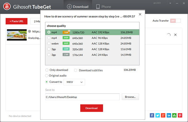 Download & Convert YouTube Videos