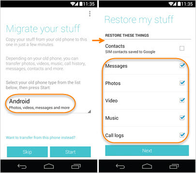 How to Use Motorola Migrate for Transferring Data