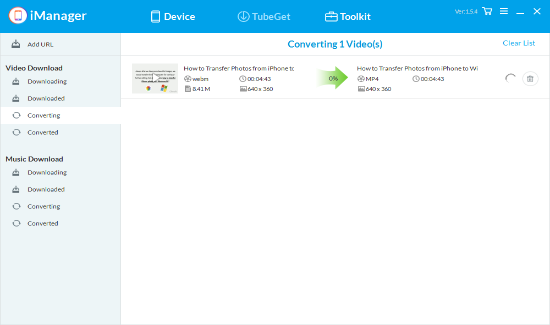 Gihosoft iManager - User Guide