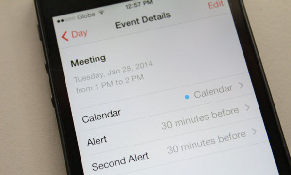 iPhone Calendar to Android Transfer