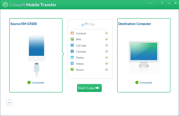 Gihosoft Mobile Phone Transfer Guide