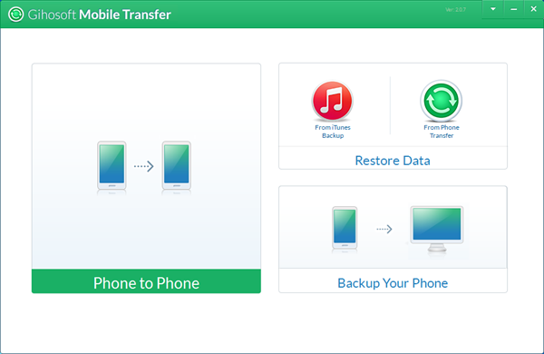 One-Click Solution for Data Transfer from Phone to Phone