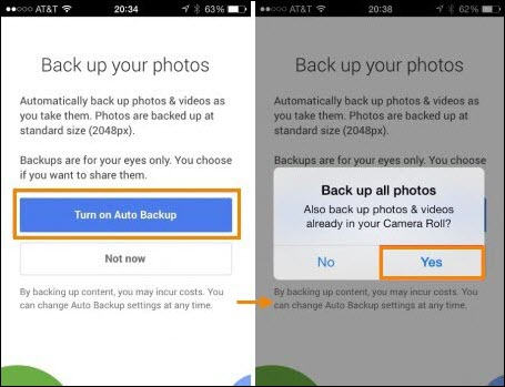 Send iPhone Photos to Android Wirelessly using Google Plus