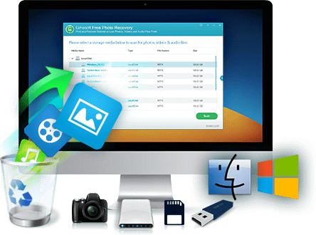 Gihosoft RePicvid Free Photo Recovery Software: Restore