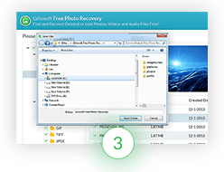 Recover and Save Photos