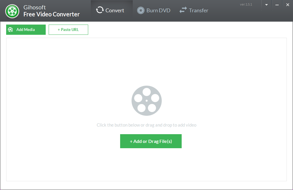 Gihosoft Free Video Converter screenshot