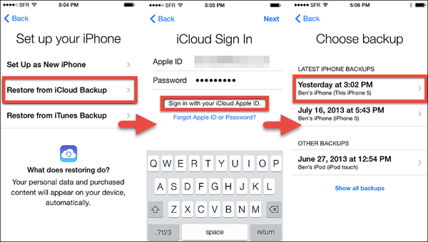 How to Recover Deleted SMS\/iMessages on iPhone or iPad