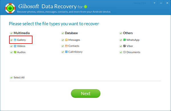 Android Photo Recovery - Recover Deleted Photos/Pictures from Android Devices