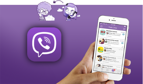 Viber chats recovery