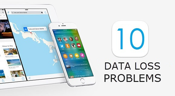 Common Data Loss Problem after Upgrading to iOS 10
