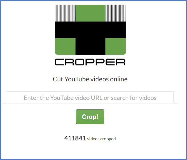 online video cropper