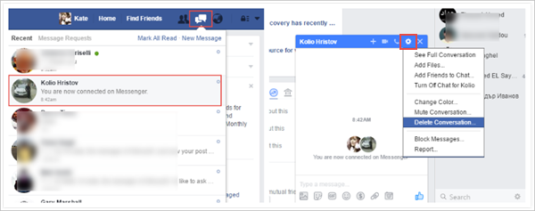 Facebook Message Recovery Tool v1.2.