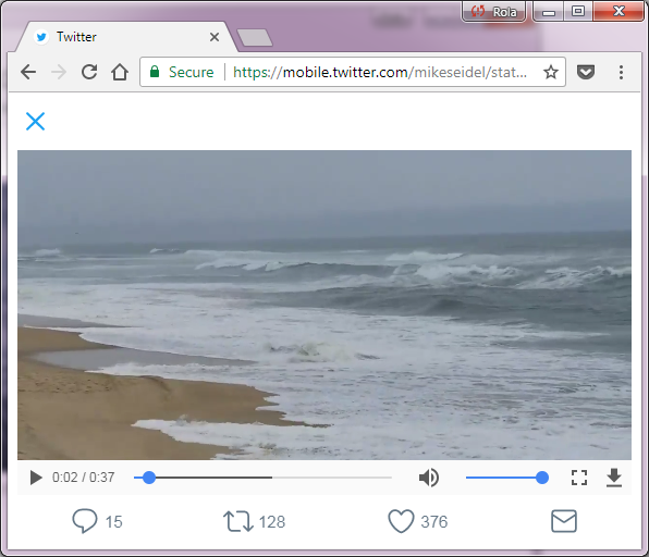 how to play videos on mobile twitter