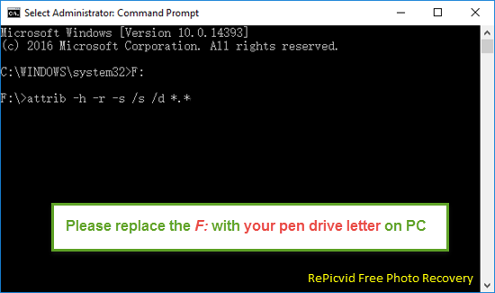 Corrupted/Unreadable Pen Drive Recovery Using CMD