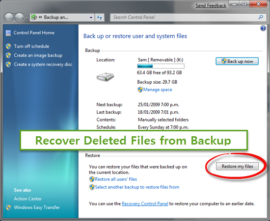 How to Recover Deleted Files/Photos from Laptop For Free