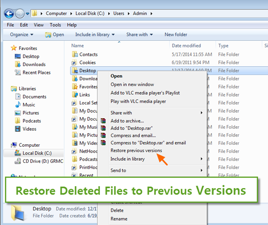 recover permanently deleted files from recycle bin