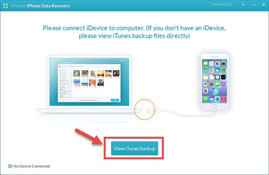 Restore Deleted Call History from iTunes Backup