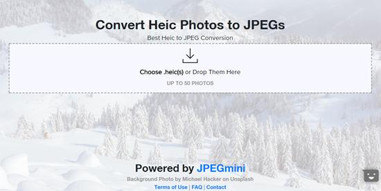 HEIC to JPG Converter Online