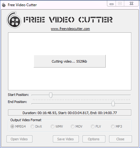 how to cut videos free