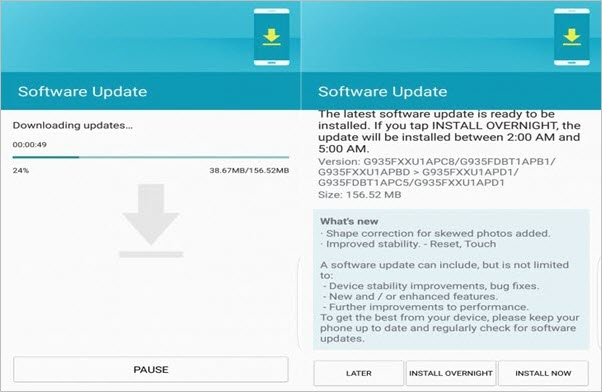 Upgrade Android Version with OTA Updates
