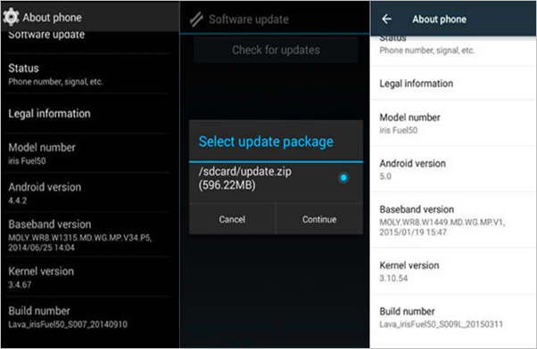 3 methods to update android system version