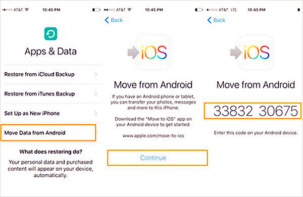 2 Methods to Transfer Data from Android to iPhone, iPad
