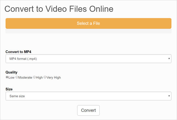 Files-Conversion is 2018 Top 5 Best Free Online Video Converter for PC/Mac