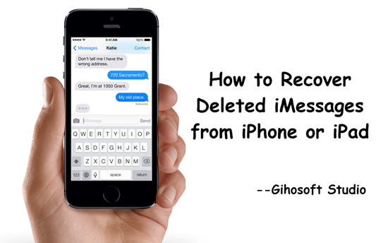 iPhone iMessages Recovery