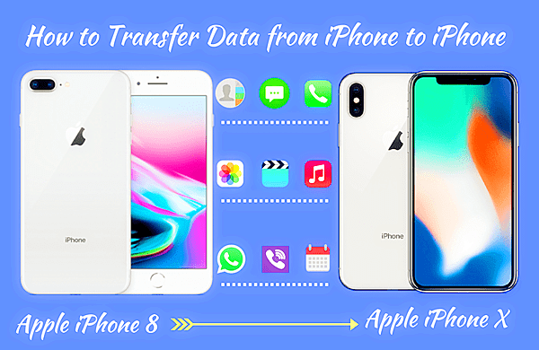 Transfer iPhone Data.
