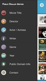 Public Domain Movies is one of the top best Free Movie Apps for iPhone.