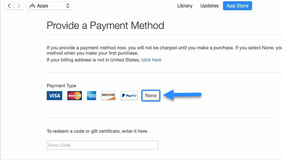 Steps to Make an Apple ID Without Payment via iTunes
