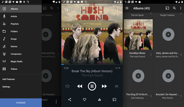 Doublewist is one of the 10 Best Free Audio Players for Android in 2018