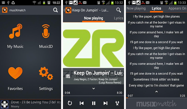 Musixmatch Player is one of the 10 Best Free Audio Players for Android in 2018