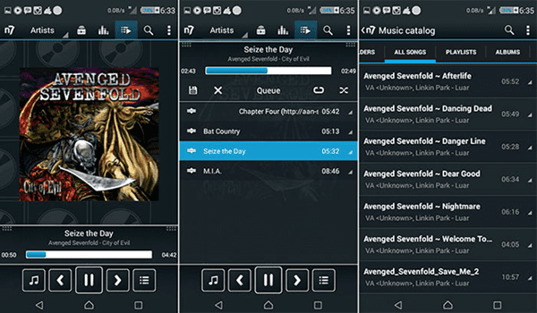 N7player is one of the 10 Best Free Audio Players for Android in 2018