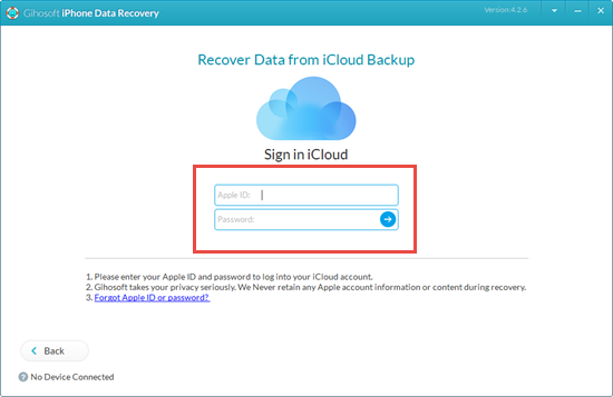 How to Print Deleted Text Messages from iCloud Backup