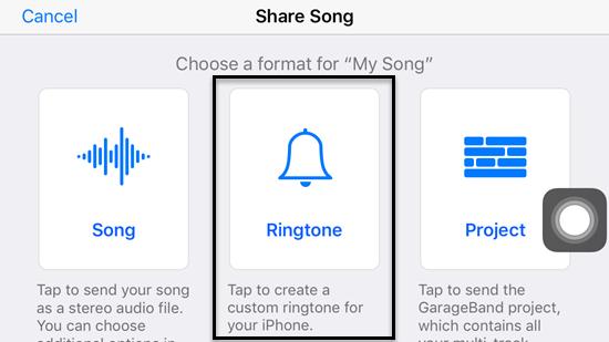 Create Ringtone on iPhone Using GarageBand