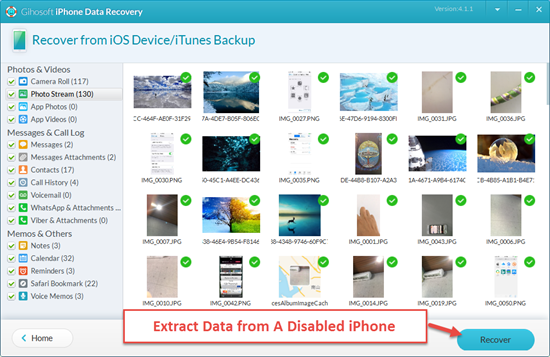 Extract Data from iPhone to Avoid Data Loss