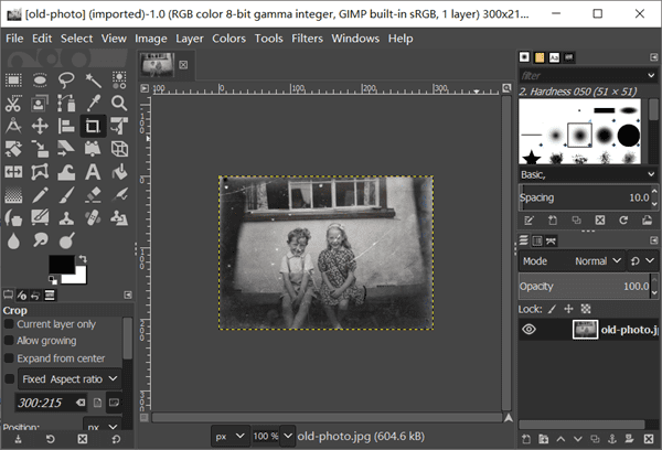Restore Old Photos for Free with Desktop App - GIMP