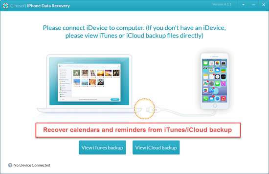 Restore Reminders from iPhone Backups with No Cost