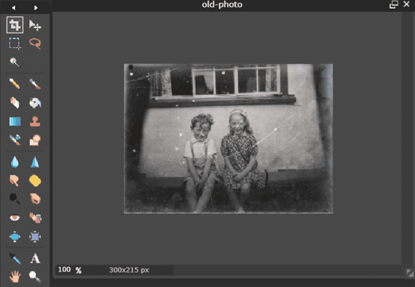 Restore Old Photos for Free with Web App - Pixlr