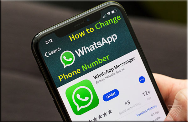 Change WhatsApp Phone Number