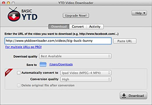 ytd-fastest free youtube downloader for mac