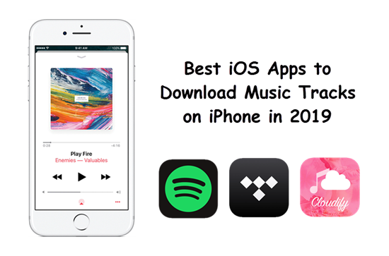 4 Best iOS Apps to Download Music Tracks with iPhone
