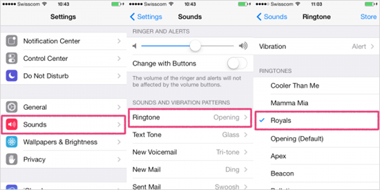 How to Change Ringtone for iPhone/iPad/iPod touch