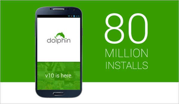 Dolphin Browser is one of the Top 5 Best Web Browsers for Android Phones and Tablets.