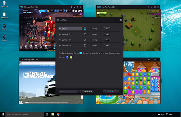 Nox App Player is one of the best Android Emulator for PC to Run Android Apps.