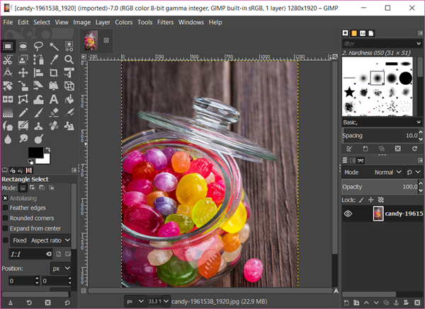 GIMP is one of the Best Open-Source Free Photo Editing Software for Windows 10.