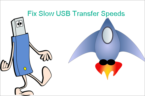 Fix Slow USB Transfer Speeds