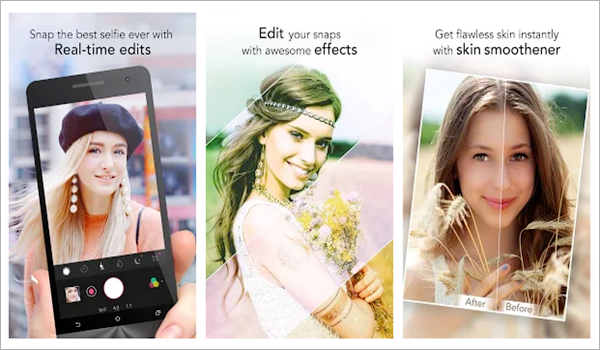 YouCam Perfect - Selfie Photo Editor is one of the top 5 Best Free Selfie Camera Apps for Android in 2019.