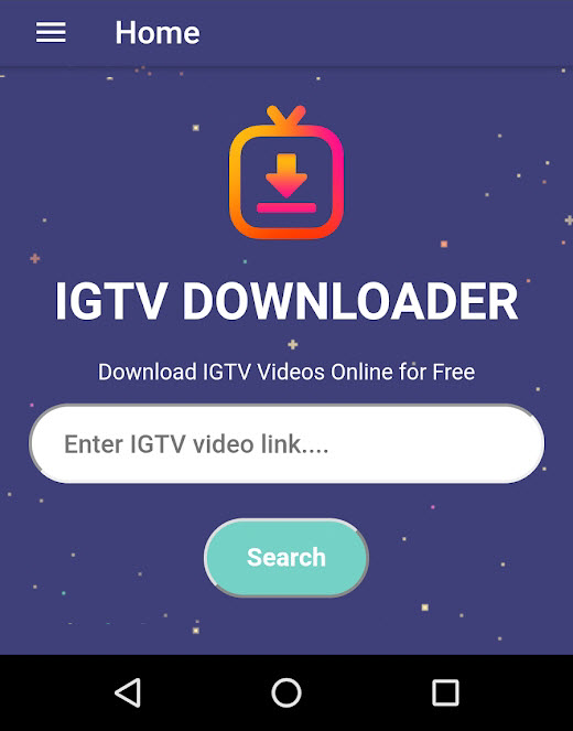 IGTV Video Downloader